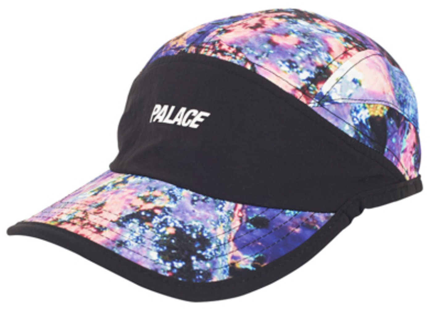 Palace Running Hat Black Purple White - Summer 2017 c402b6ac060
