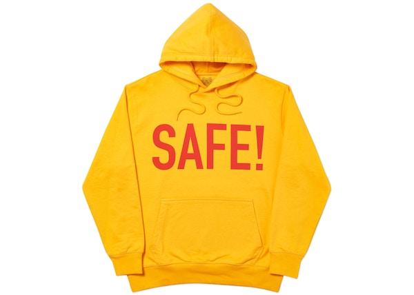 Palace Safe T Hood Yellow