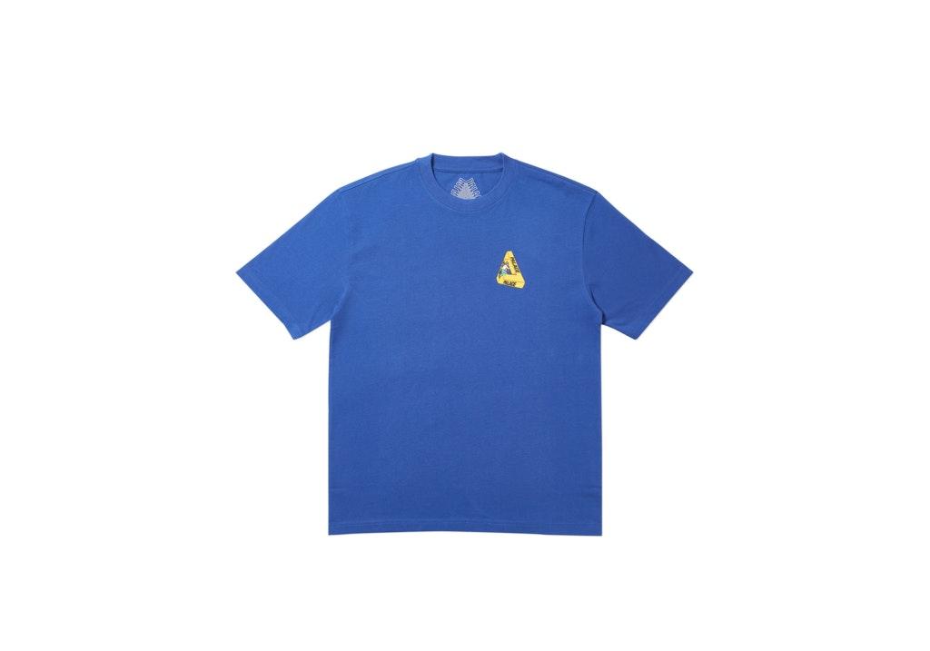 Palace Safe T-Shirt Blue