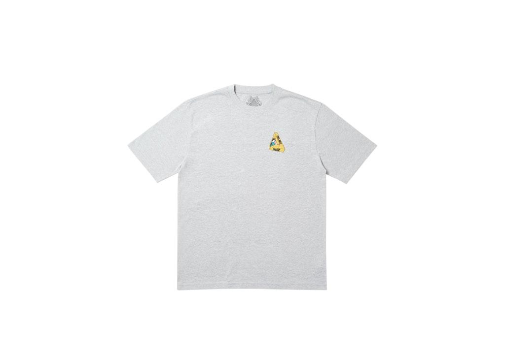 Palace Safe T-Shirt Grey Marl