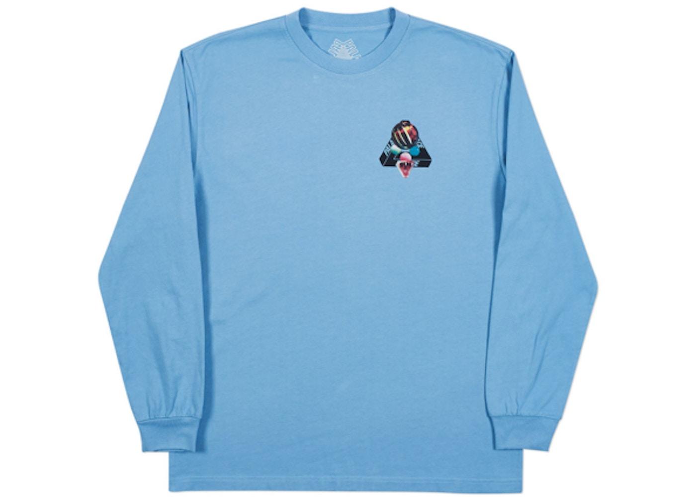 43fb62a4f9 Palace Sans Ferg Longsleeve T-Shirt Cornflower Blue - SS18