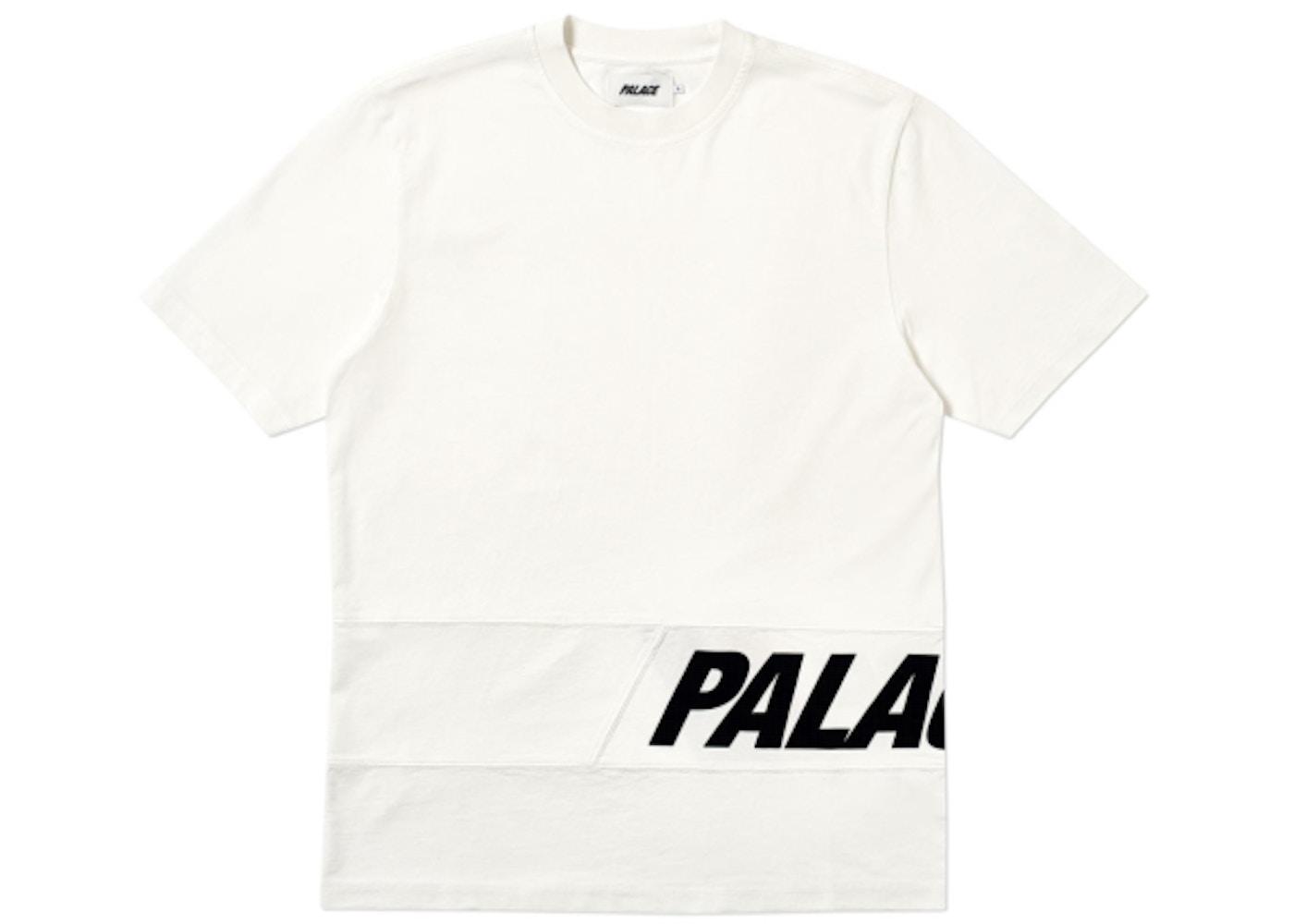 cbe2481fea9de Palace Side T-Shirt White - SS19