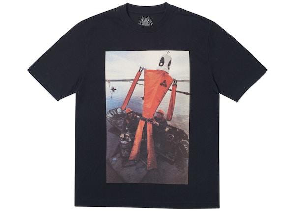 Palace Slick T-Shirt Black