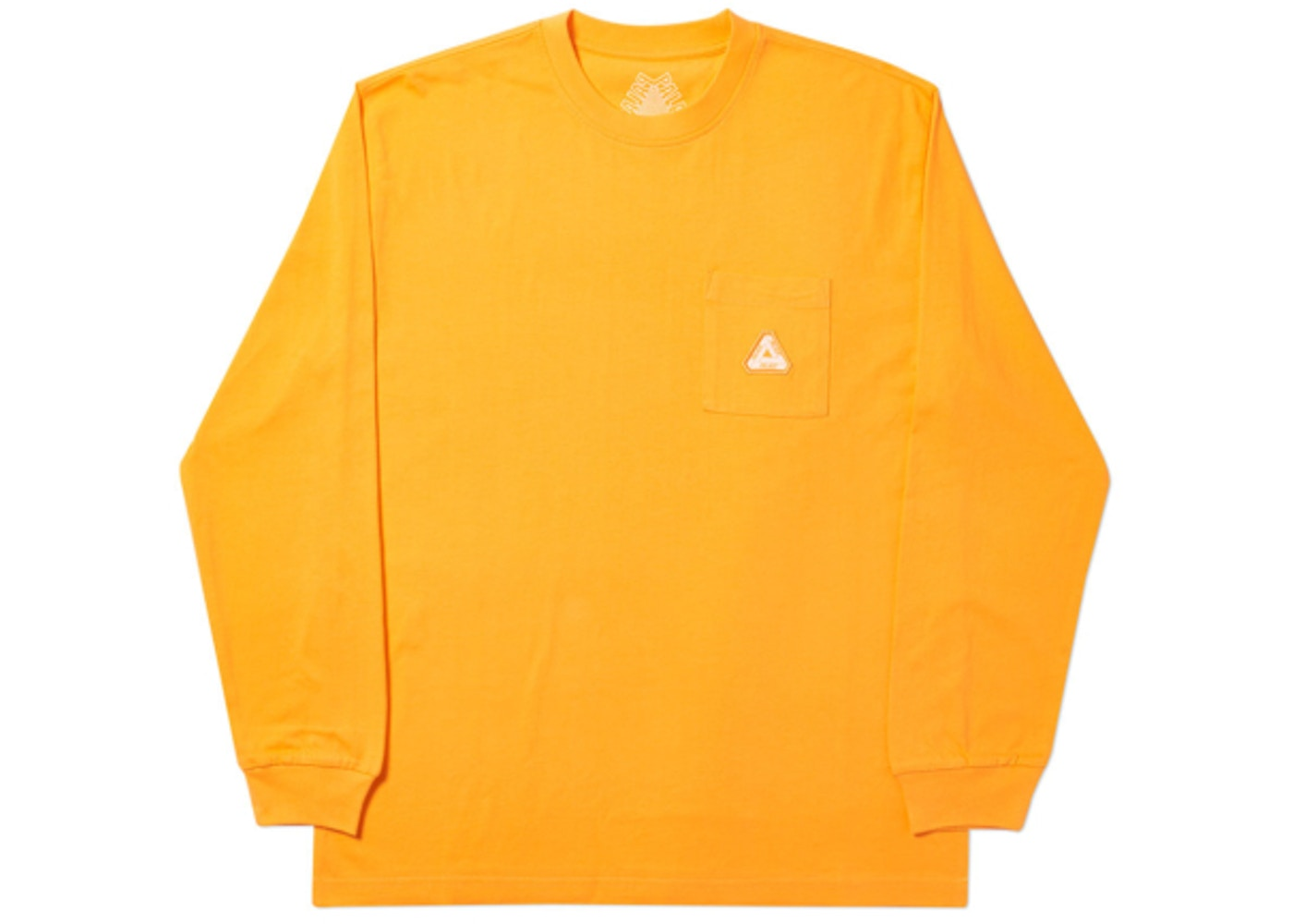 dfd336a8 Palace Sofar Pocket Longsleeve Orange - SS19