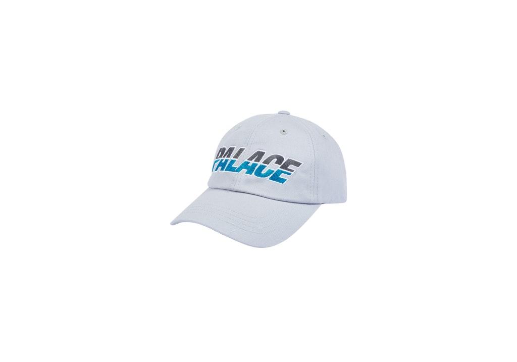 Palace Split Logo Hat Grey