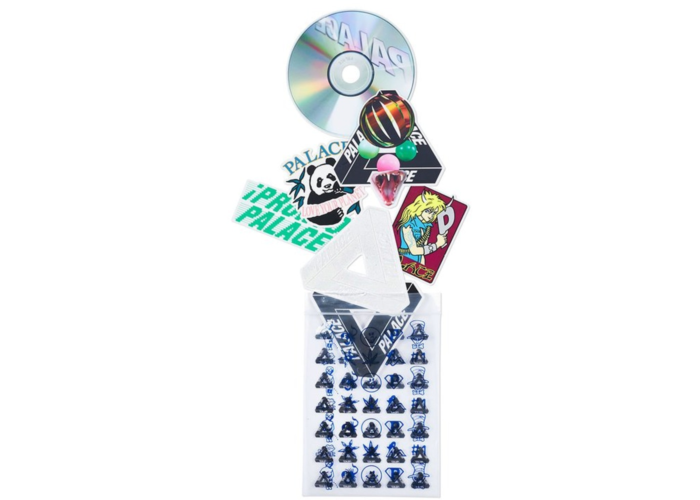 bed88080b2e0 Sell. or Ask. View All Bids. Palace Sticker Pack SS18 Multi