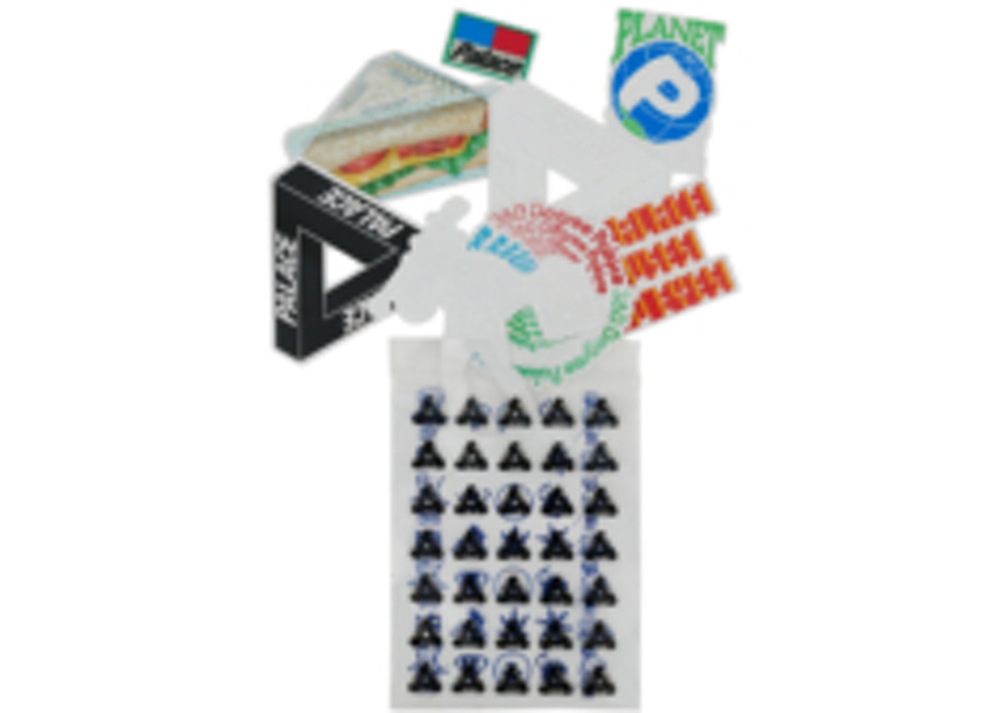 aa23e9c68aed Palace Sticker Pack Spring 2018 2 Multi - Spring 2018