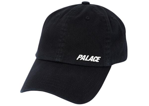 Palace Strap 6-Panel Black