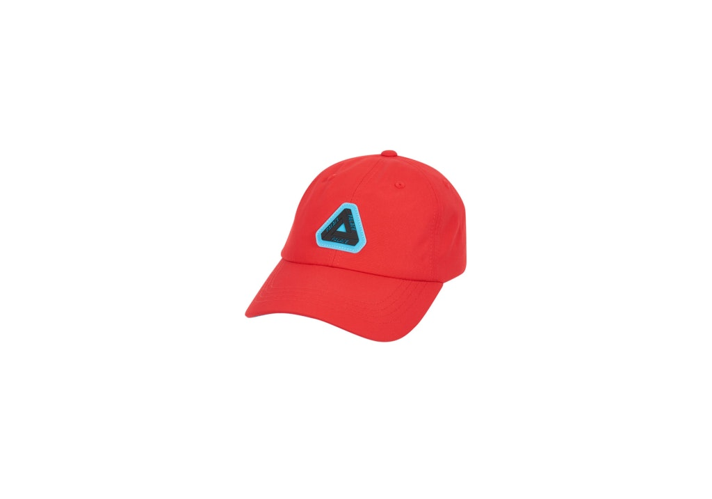 Palace Strap Shell 6-Panel Red