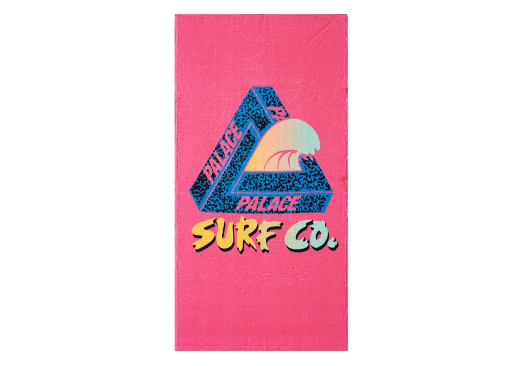 Palace Surf Co Towel Pink