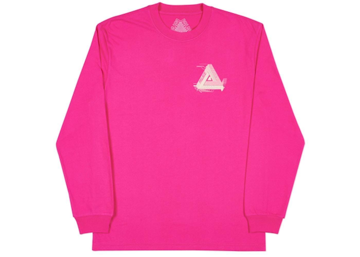 0afca7ec328f Palace Surkit Longsleeve Hot Pink Grey - Spring 2018