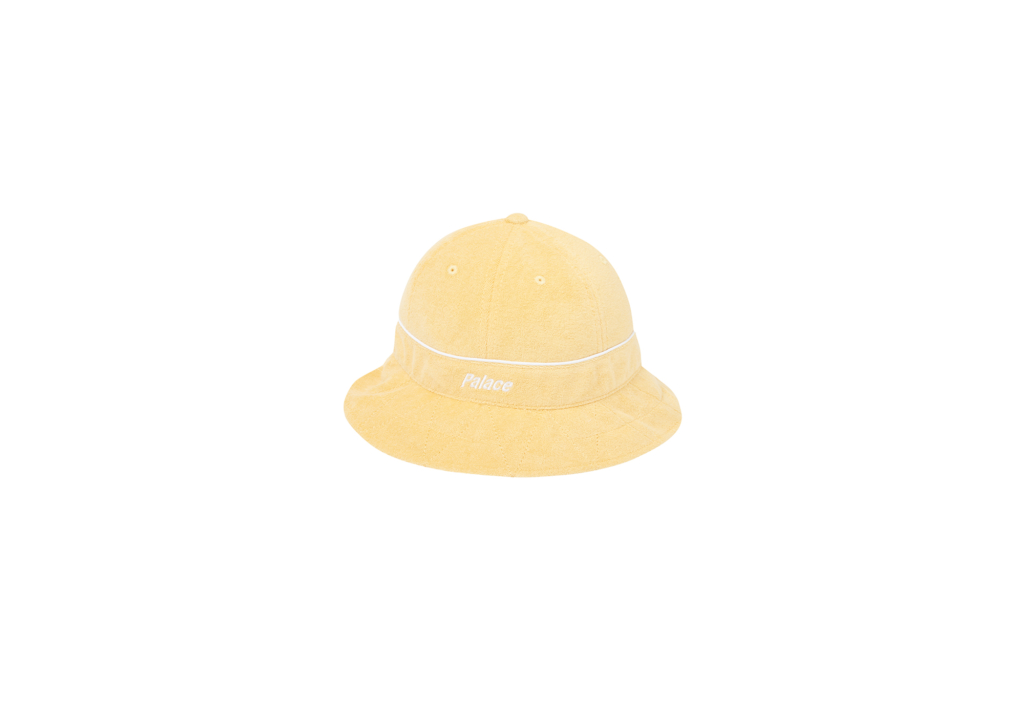 Palace Towelling Bucket Hat Yellow