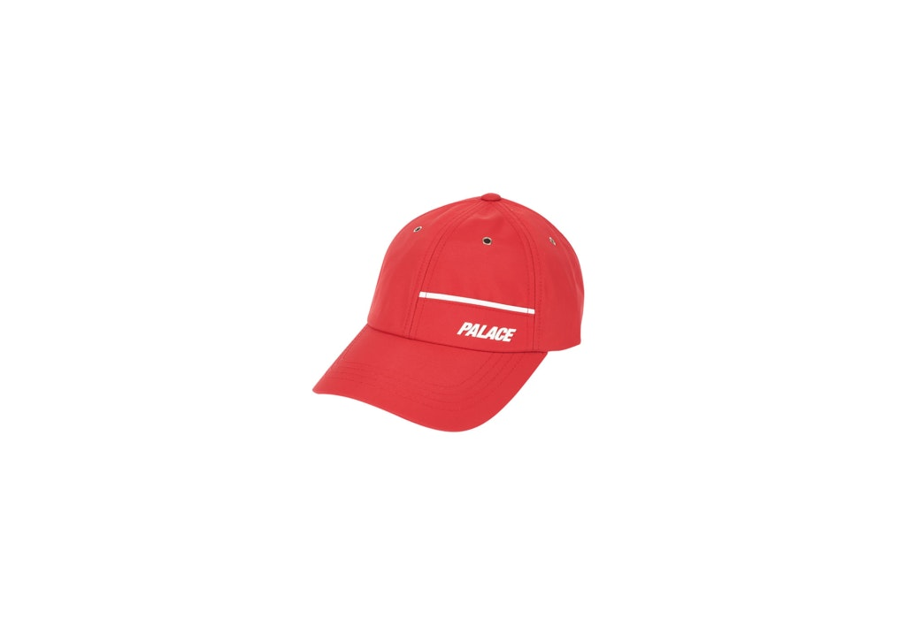 Palace Track Shell 6-Panel Red