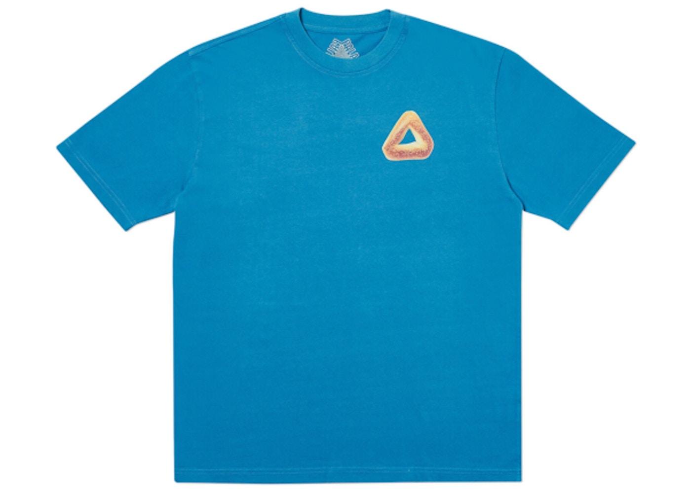 66ff41fb347f Palace Tri Bagel T-Shirt Blue. Tri Bagel