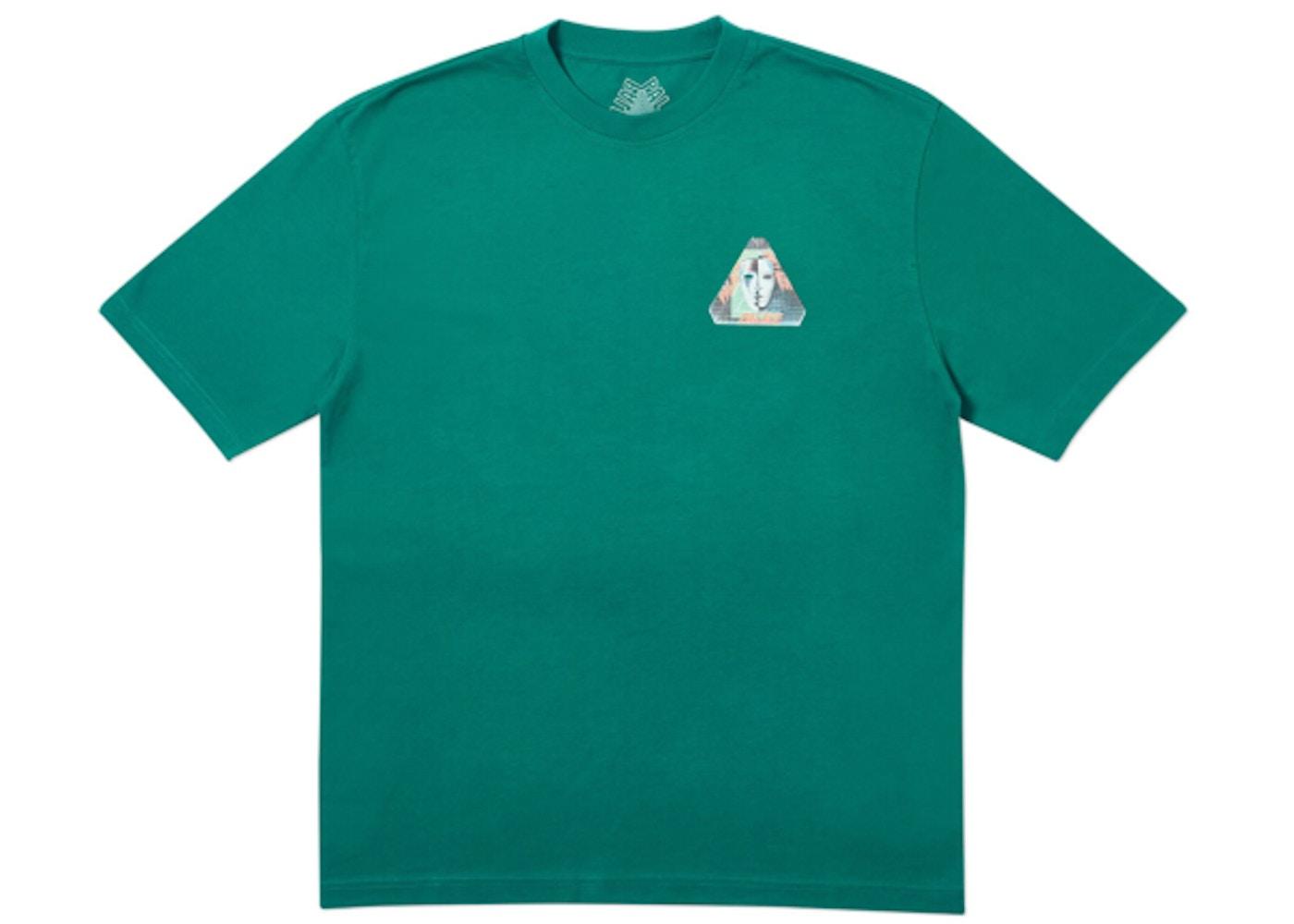 0d79320c Palace Tri-Bury T-Shirt Green - SS19