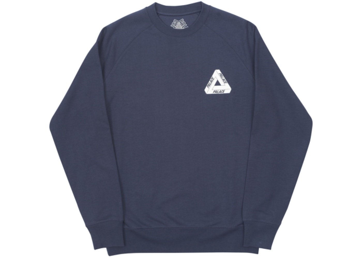 4abfa823e4fc Palace Tri-Ferg Crew Internationale Navy - Palace Internationale