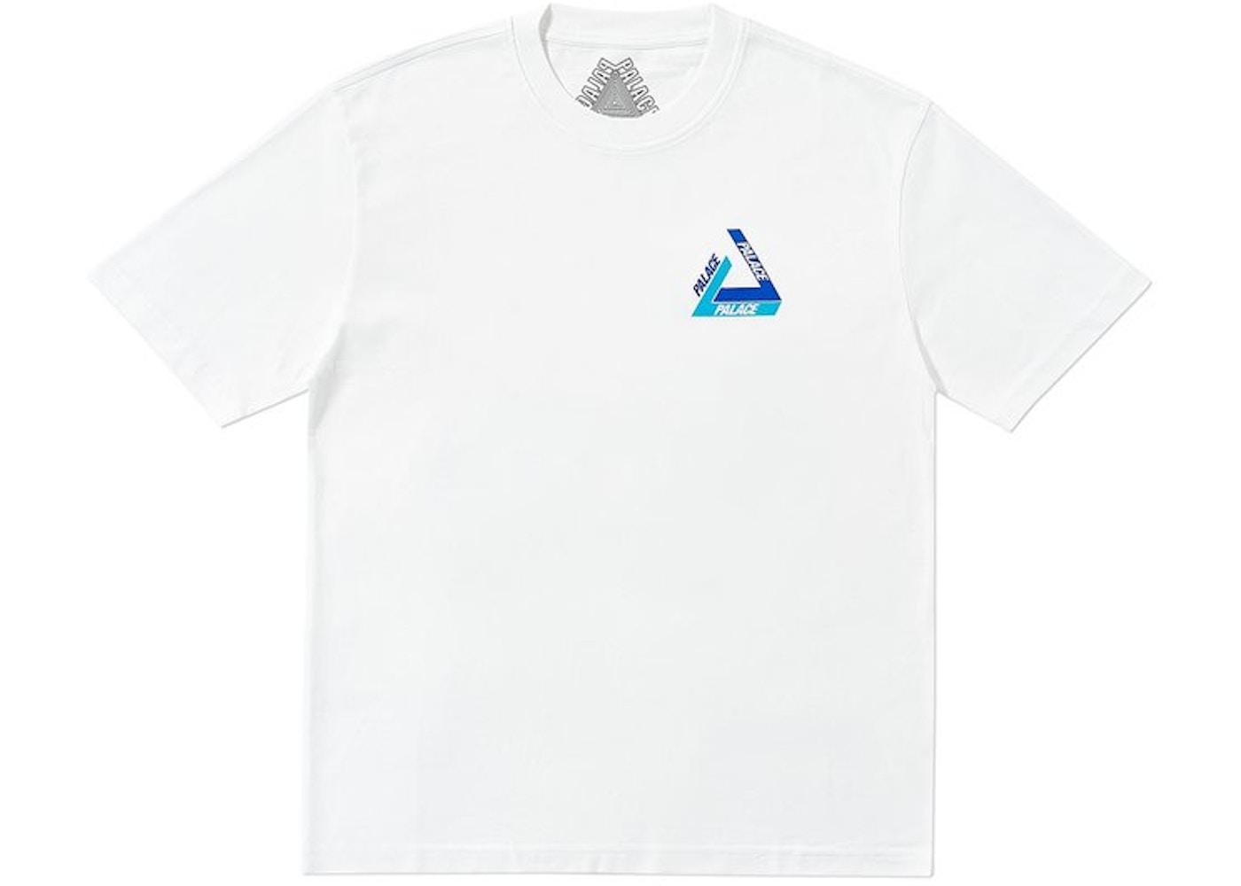 54d0a915c15c Palace Tri-Shadow T-Shirt White Blue. Tri-Shadow