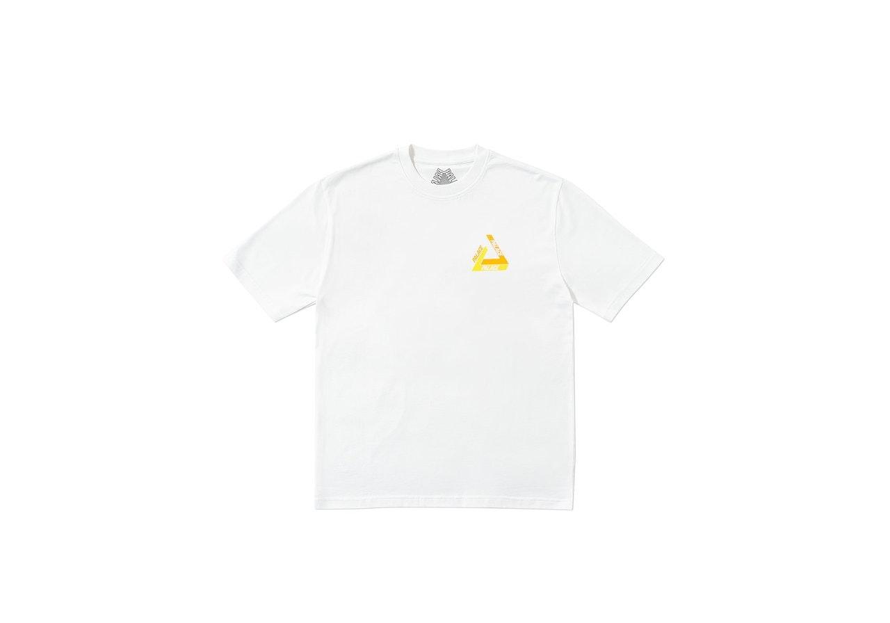 Palace Tri-Shadow T-Shirt White/Orange