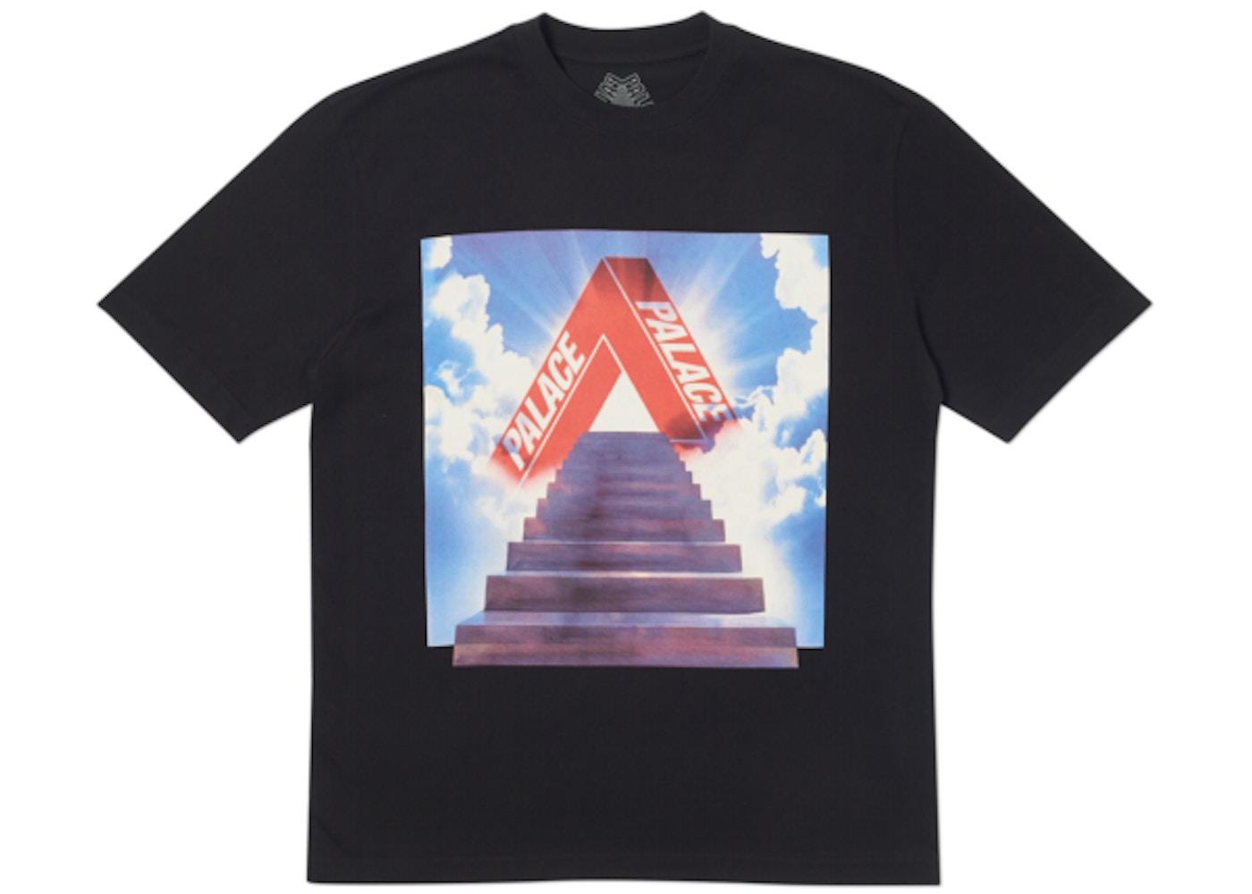 1d5db317 Palace Tri-Ternity T-Shirt Black - SS19
