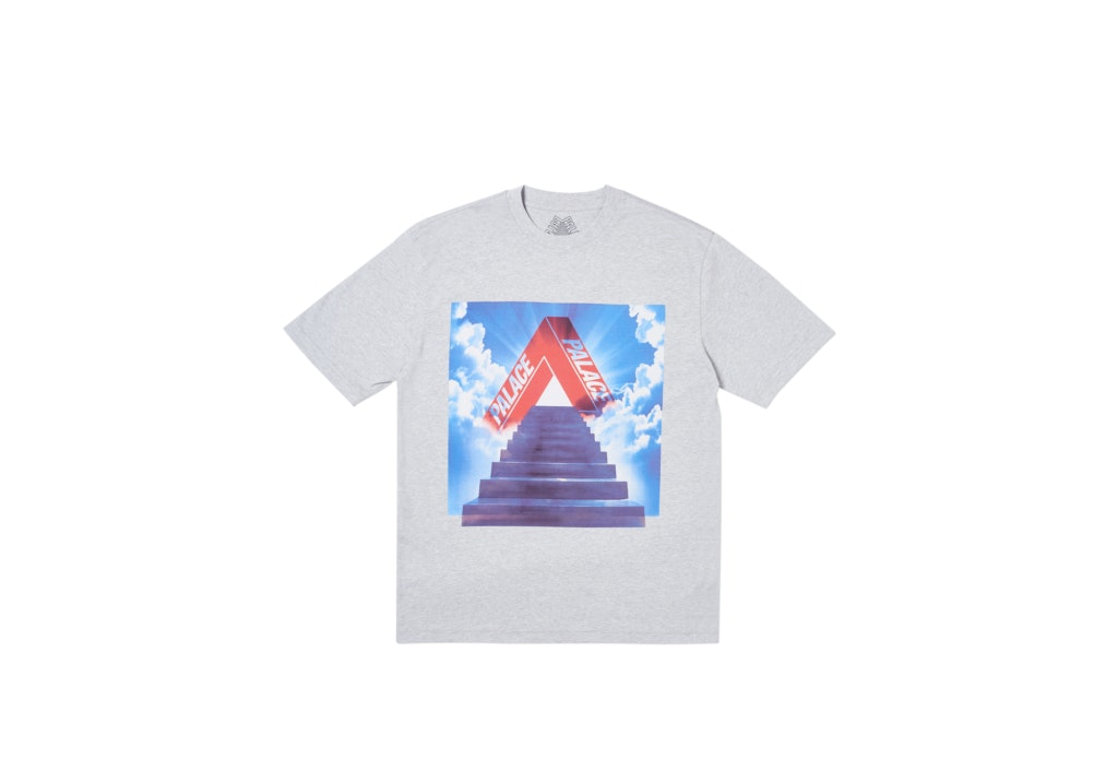 Palace Tri-Ternity T-Shirt Grey Marl