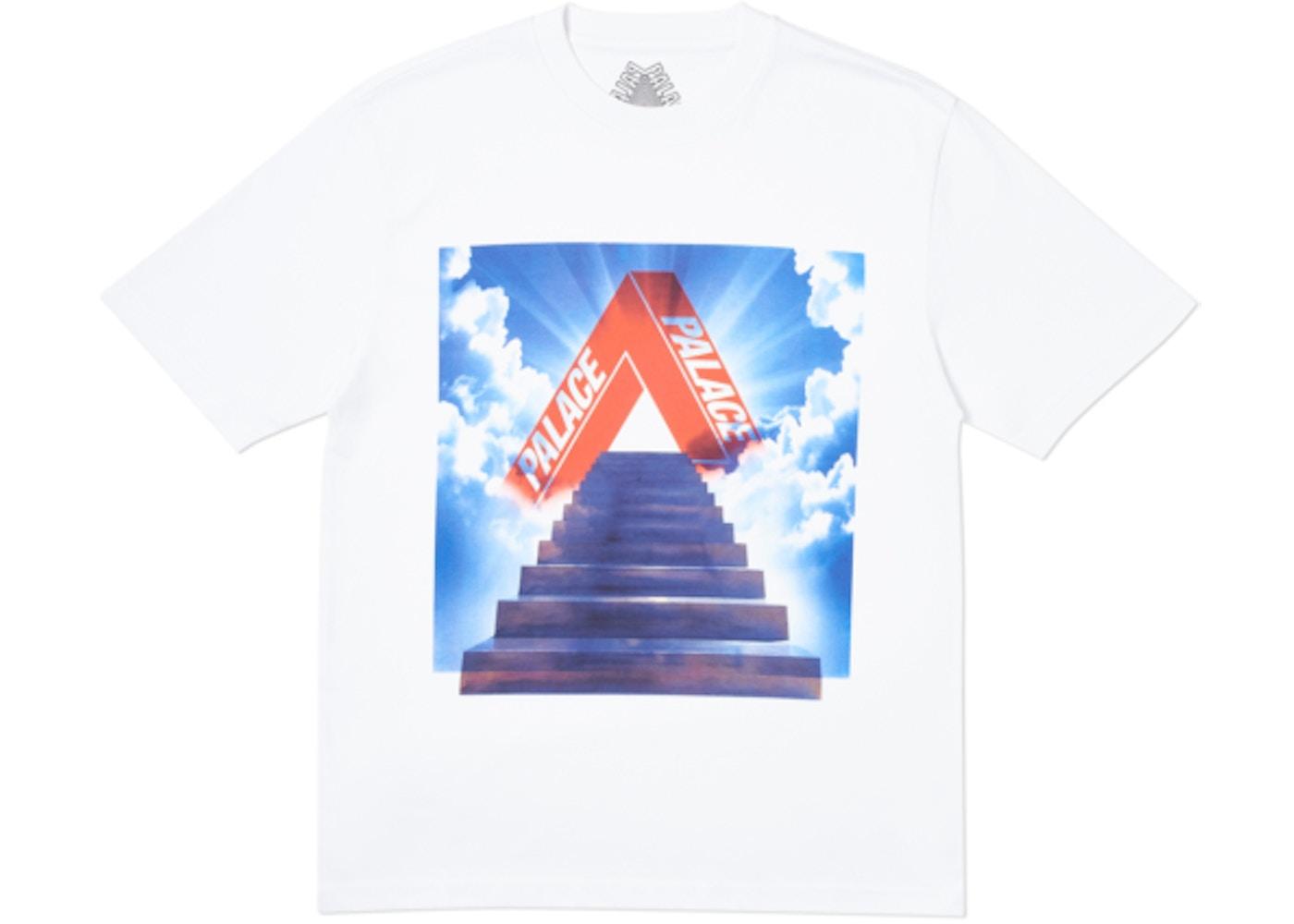 f6c0e8ce Palace Tri-Ternity T-Shirt White - SS19