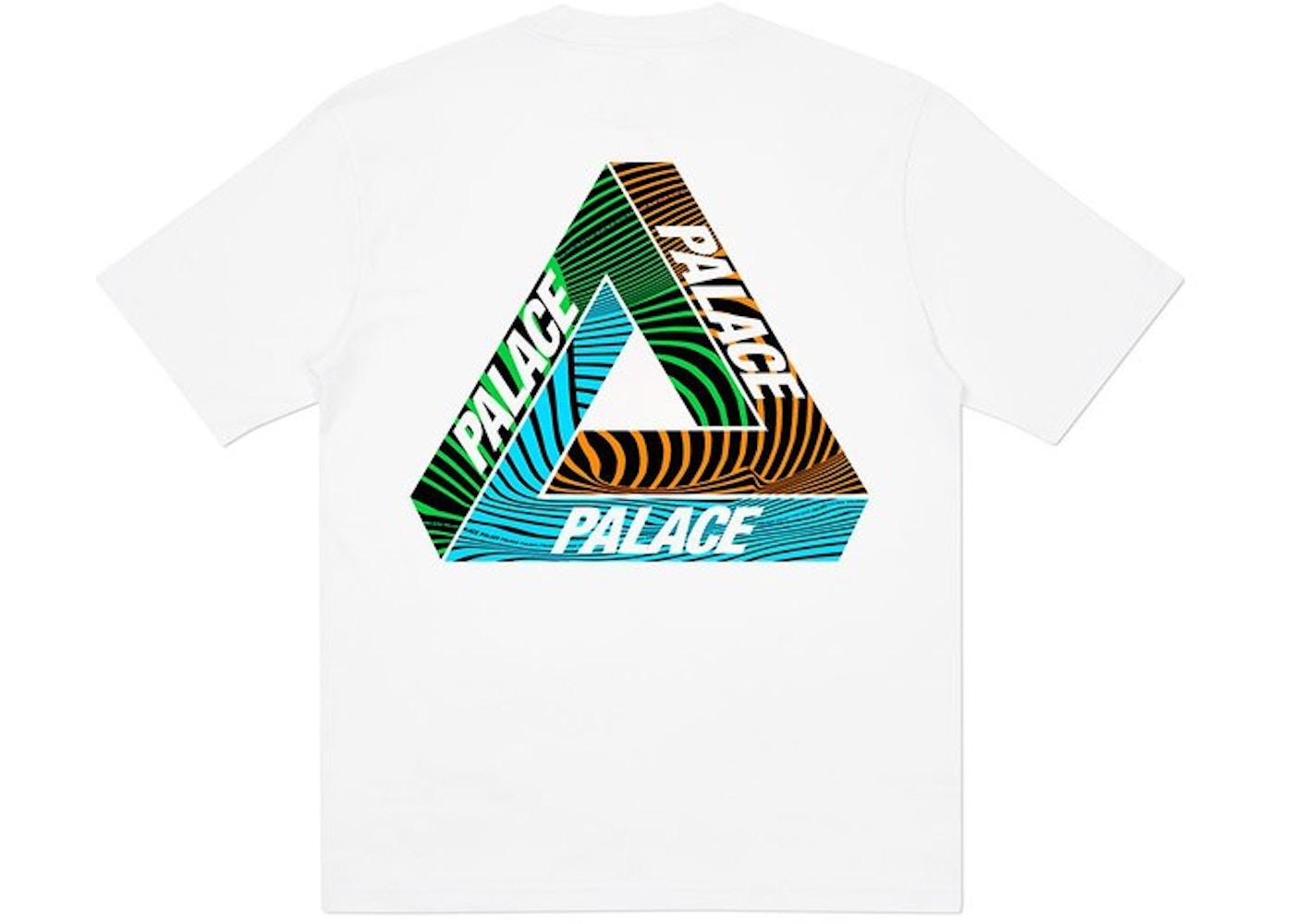 Palace Tri-Tex T-Shirt White - SS20