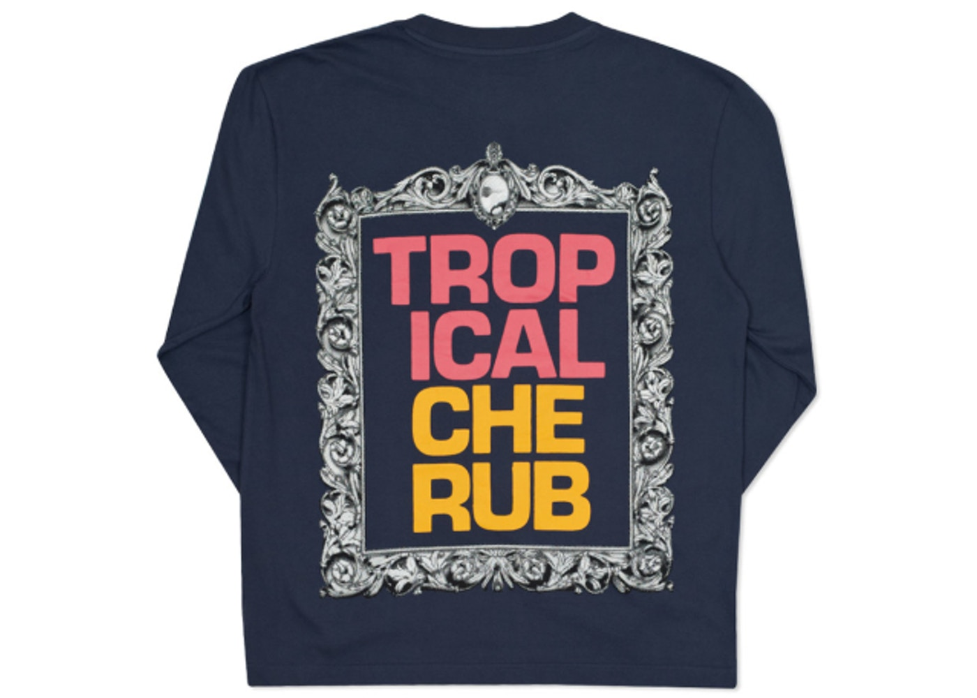 8e545a773f62 Sell. or Ask. Size --. View All Bids. Palace Tropical Cherub L S T-Shirt  Navy
