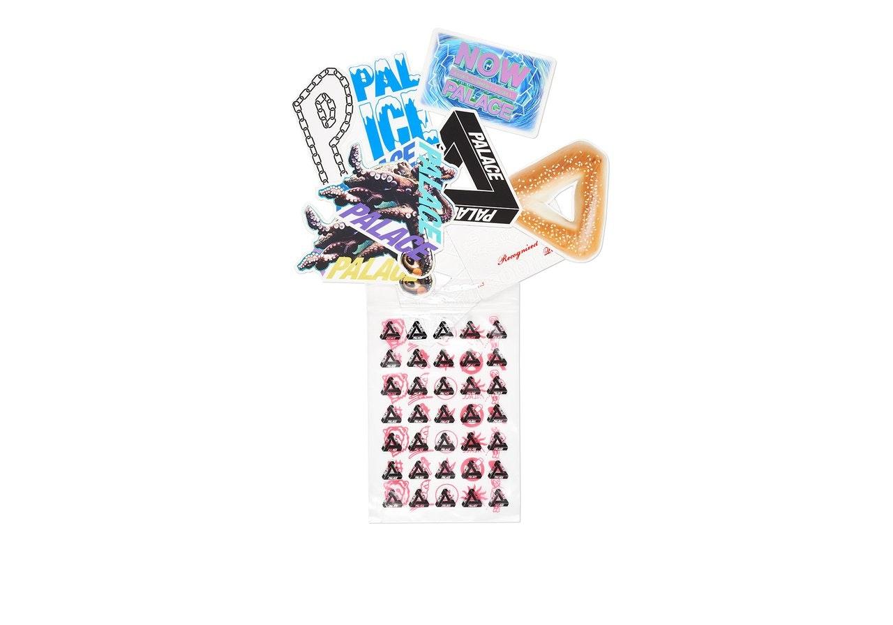 Palace Ultimo 2018 Sticker Pack Multi