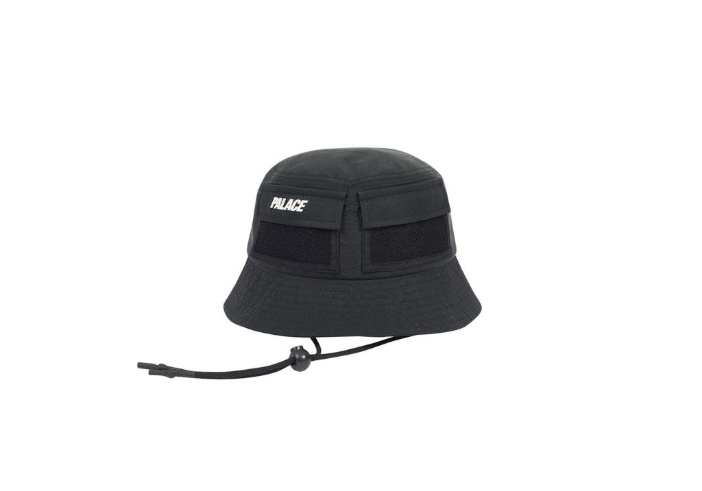Palace Utility Shell Bucket Hat Black
