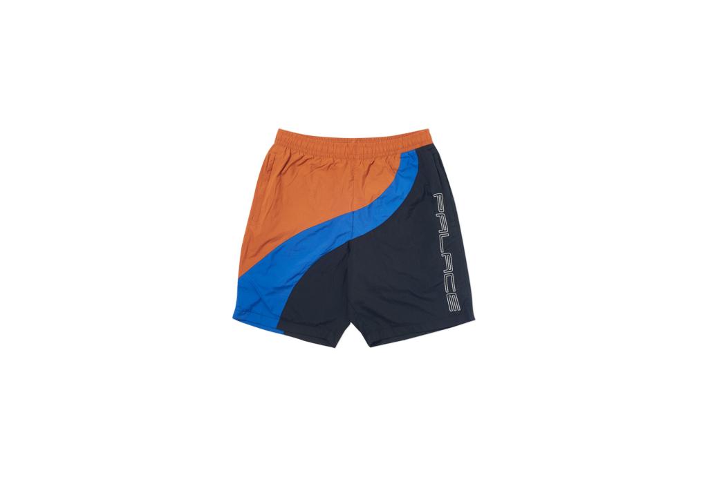 Palace Wave Runner Shell Shorts Black