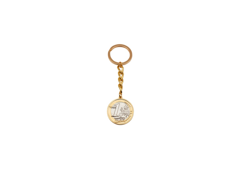 Palace We Are 1 Keyring Gold/Silver