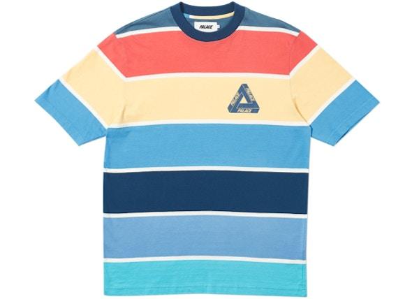 Palace Wide On T-Shirt Blue