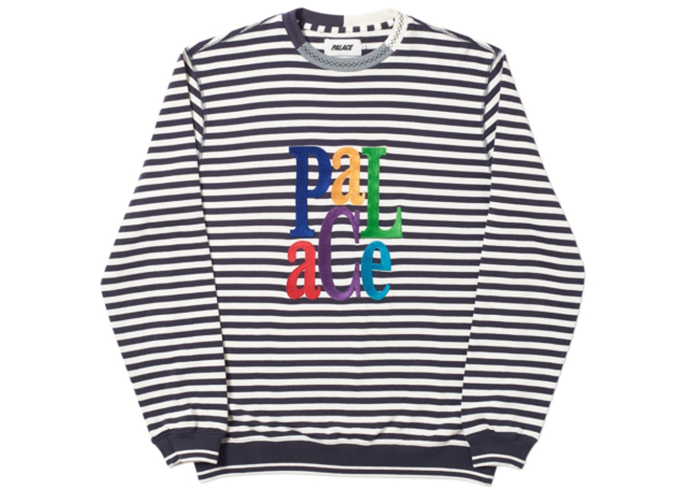 77ff28c1 Sell. or Ask. Size S. View All Bids. Palace Zig Zag Crew Black/White Stripes