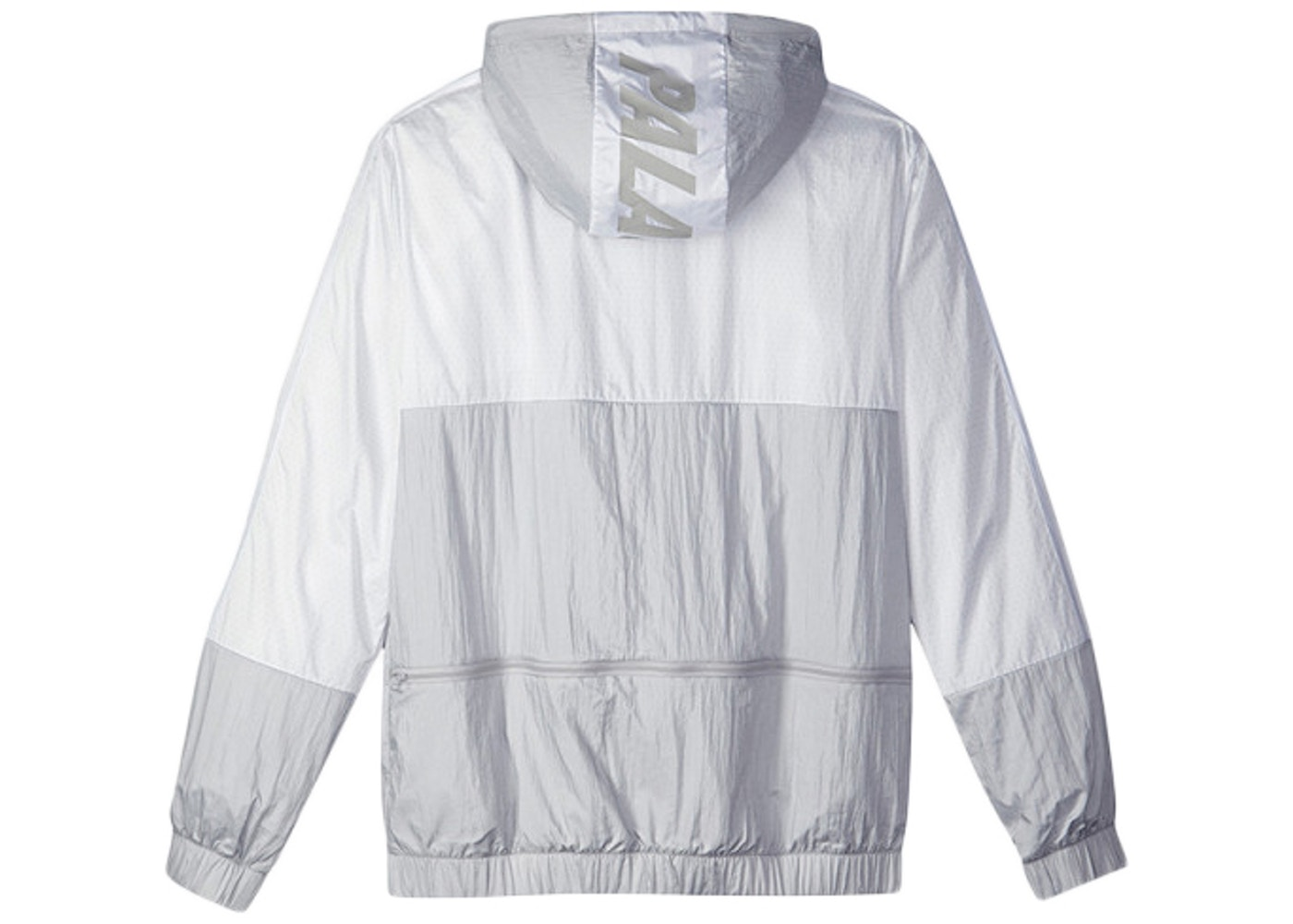 Palace adidas Packable Windbreaker 1 Light Grey Solid Grey White - SS15 0b40b8f11