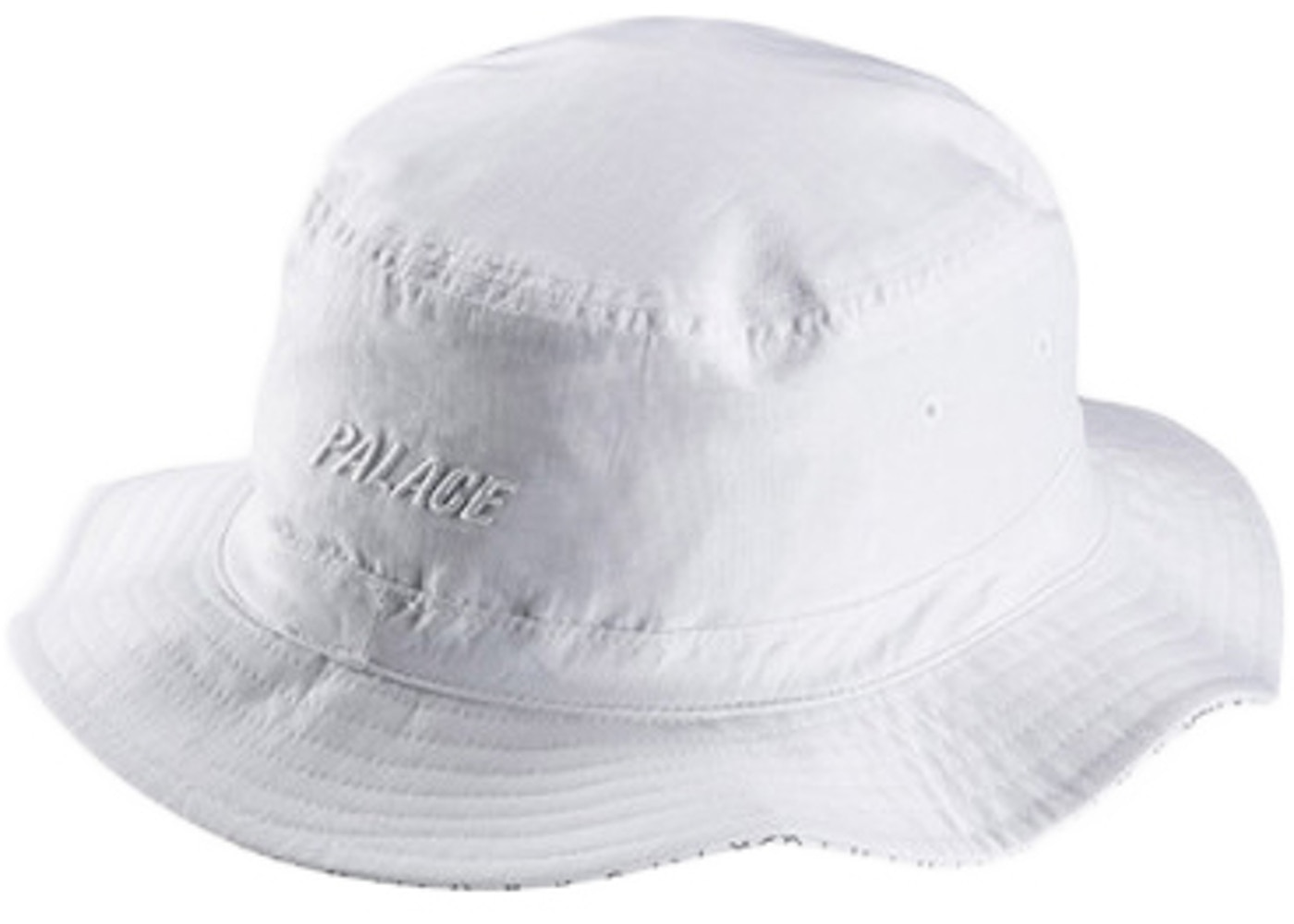 30706ae4 Palace adidas Reversible Bucket Hat White. adidas Reversible Bucket