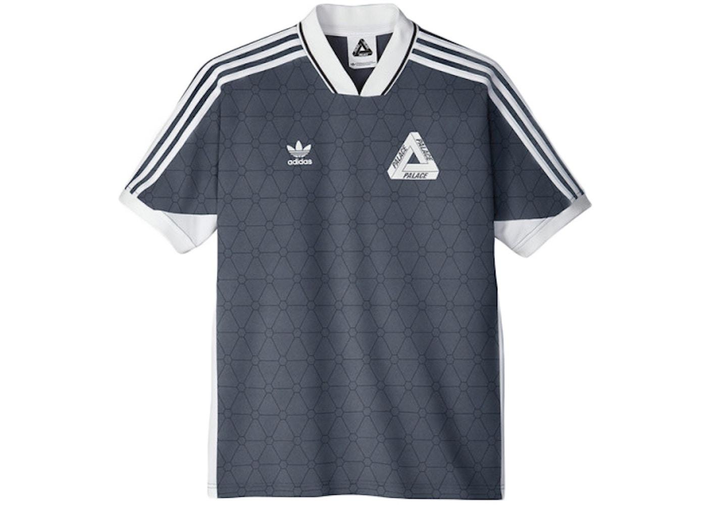 No complicado en lugar Imitación  Palace adidas Shortsleeve Team Shirt Onix - SS15