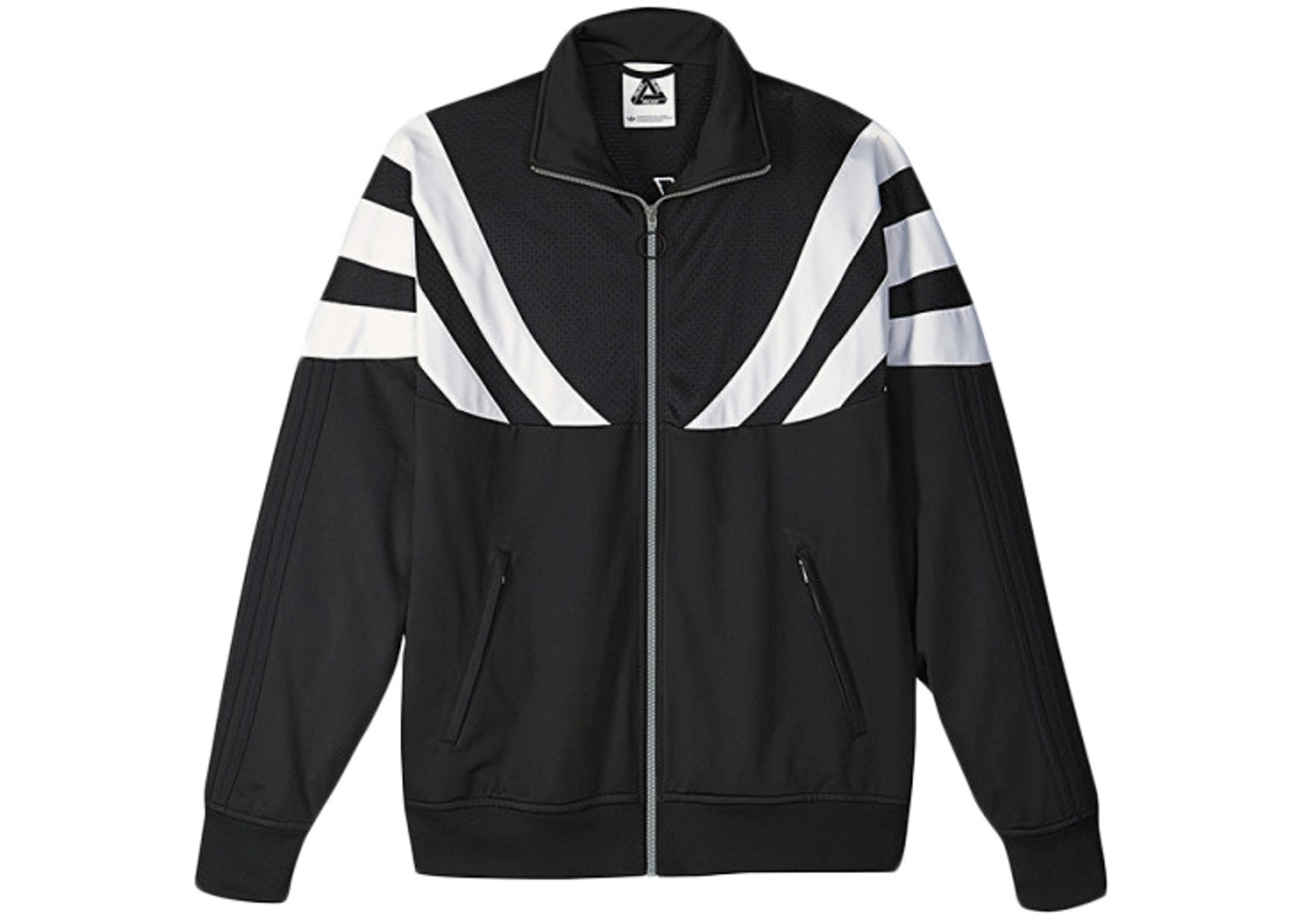 44fe44487 Palace adidas Track Top 2 Black/White - SS15