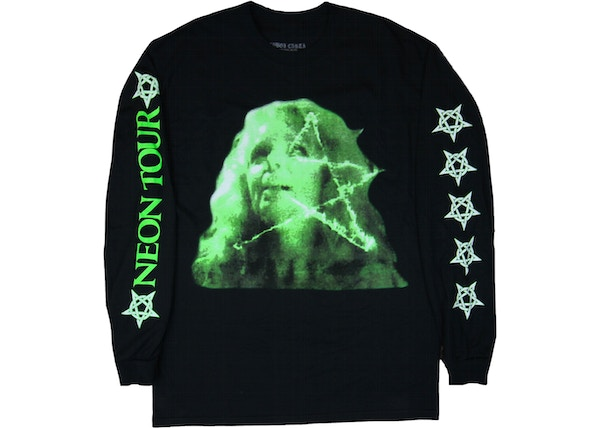 a67a7daf Playboi Carti Neon Tour L/S T-Shirt Black