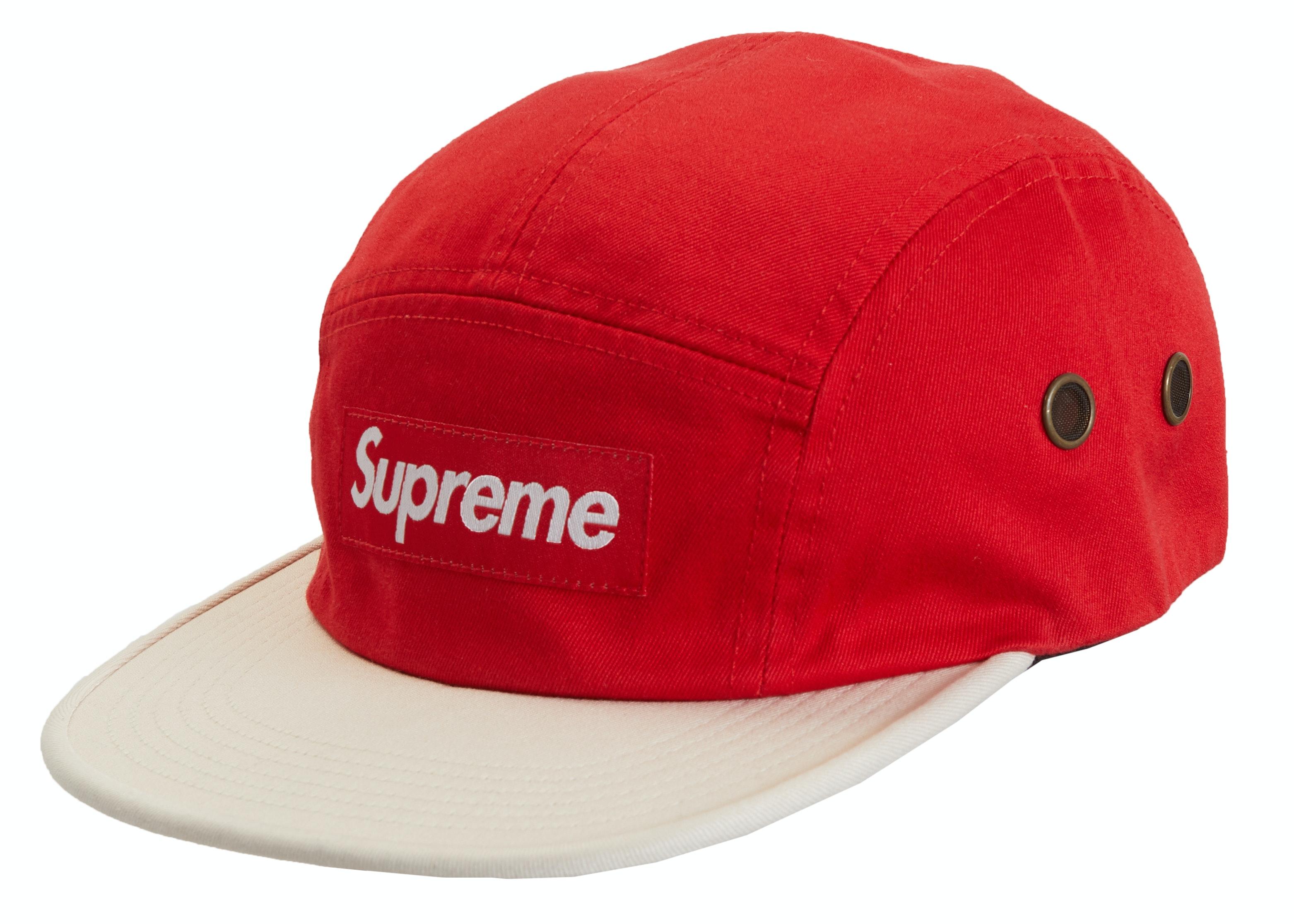 Supreme 2-Tone Camp Cap Red