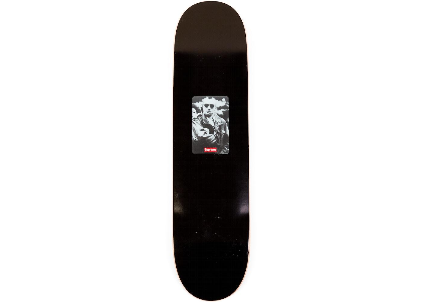 c1eeec66 Supreme 20th Anniversary Taxi Driver Skateboard Deck Black - SS14