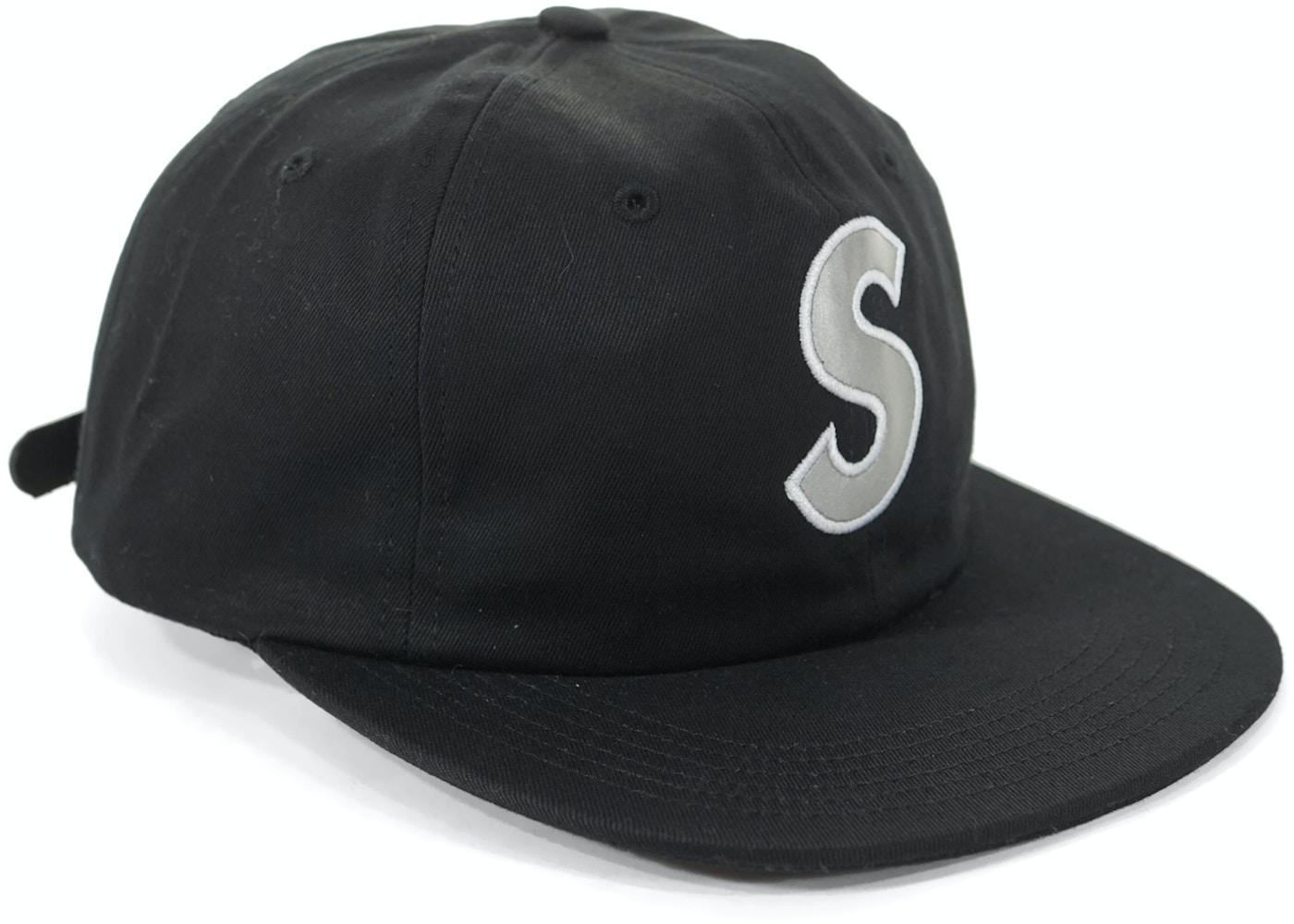 Supreme 3M Reflective S Logo 6 Panel Black - SS16 728d5129c8ad