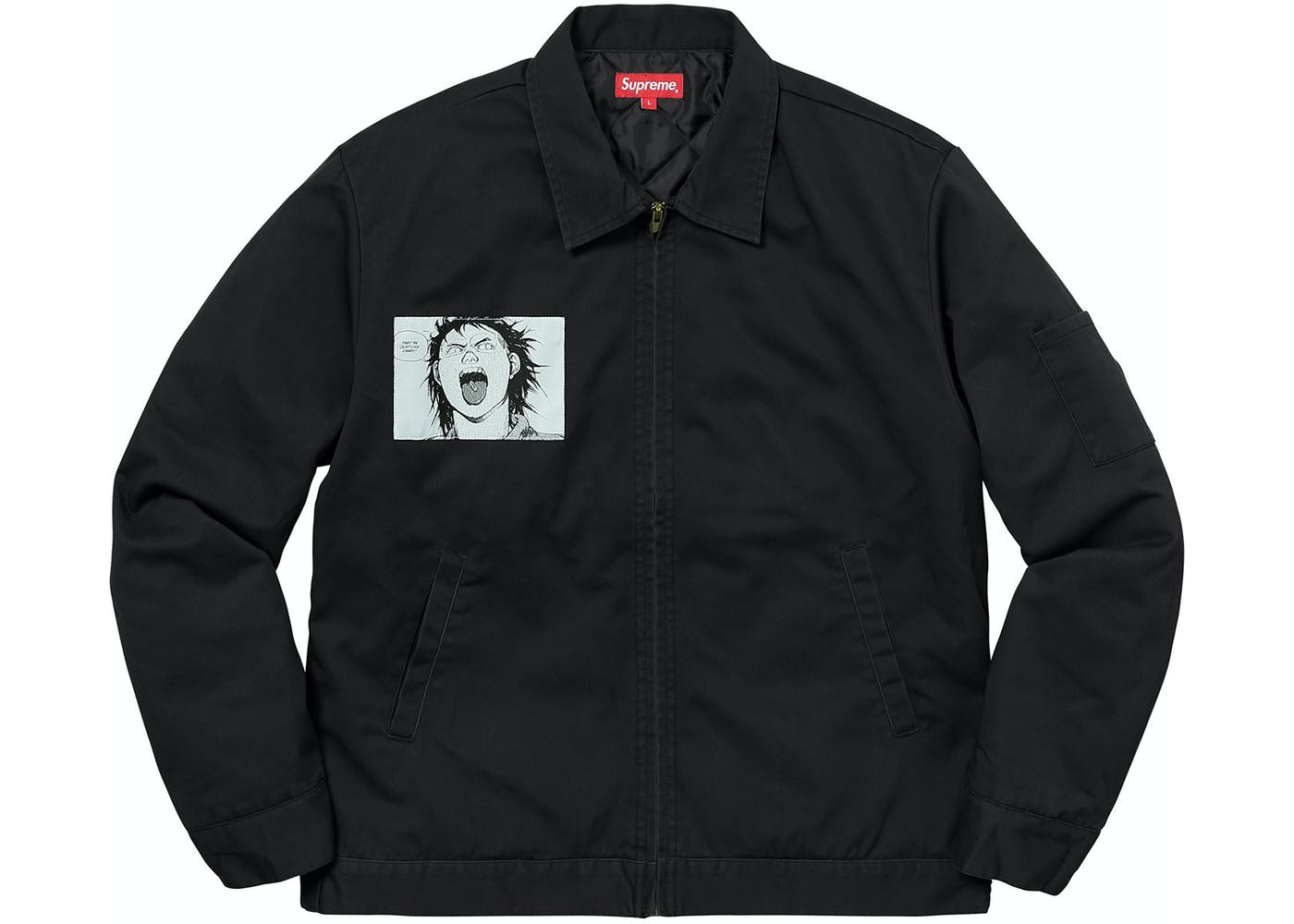 Supreme Akirasupreme Work Jacket Black