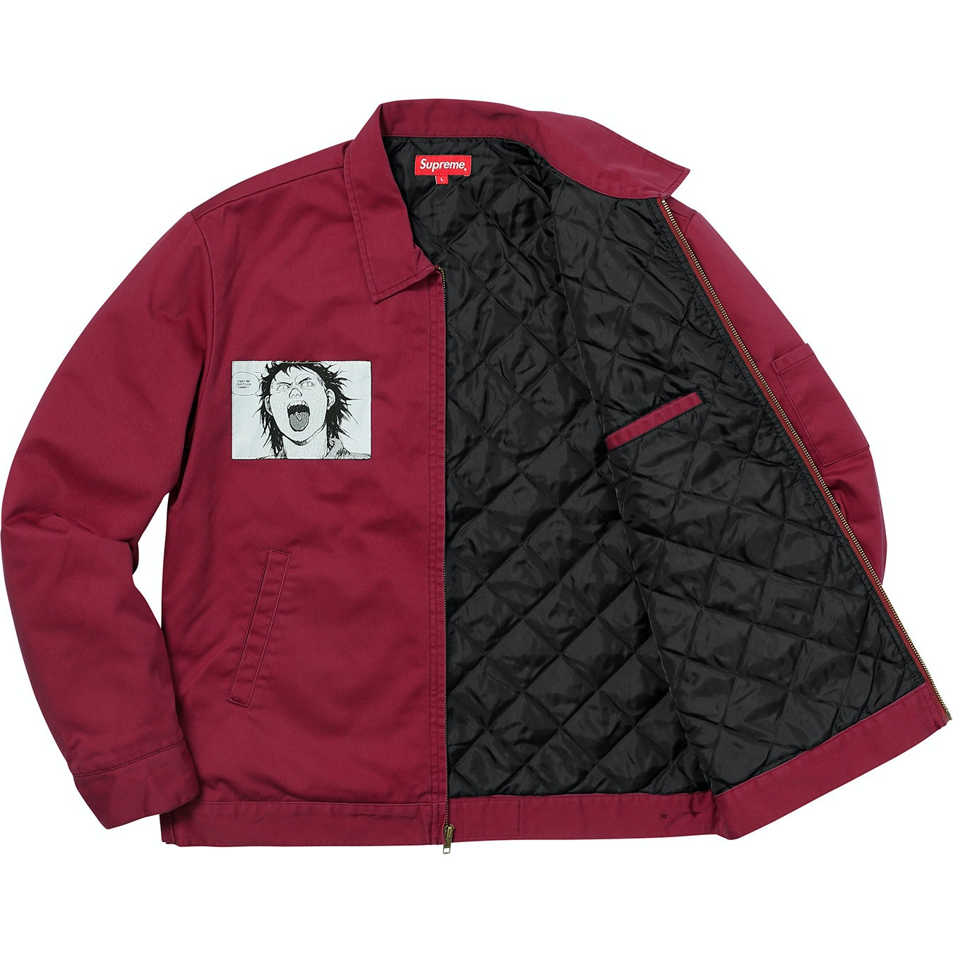 Supreme Auto Sales >> Supreme AKIRA Work Jacket Light Burgundy