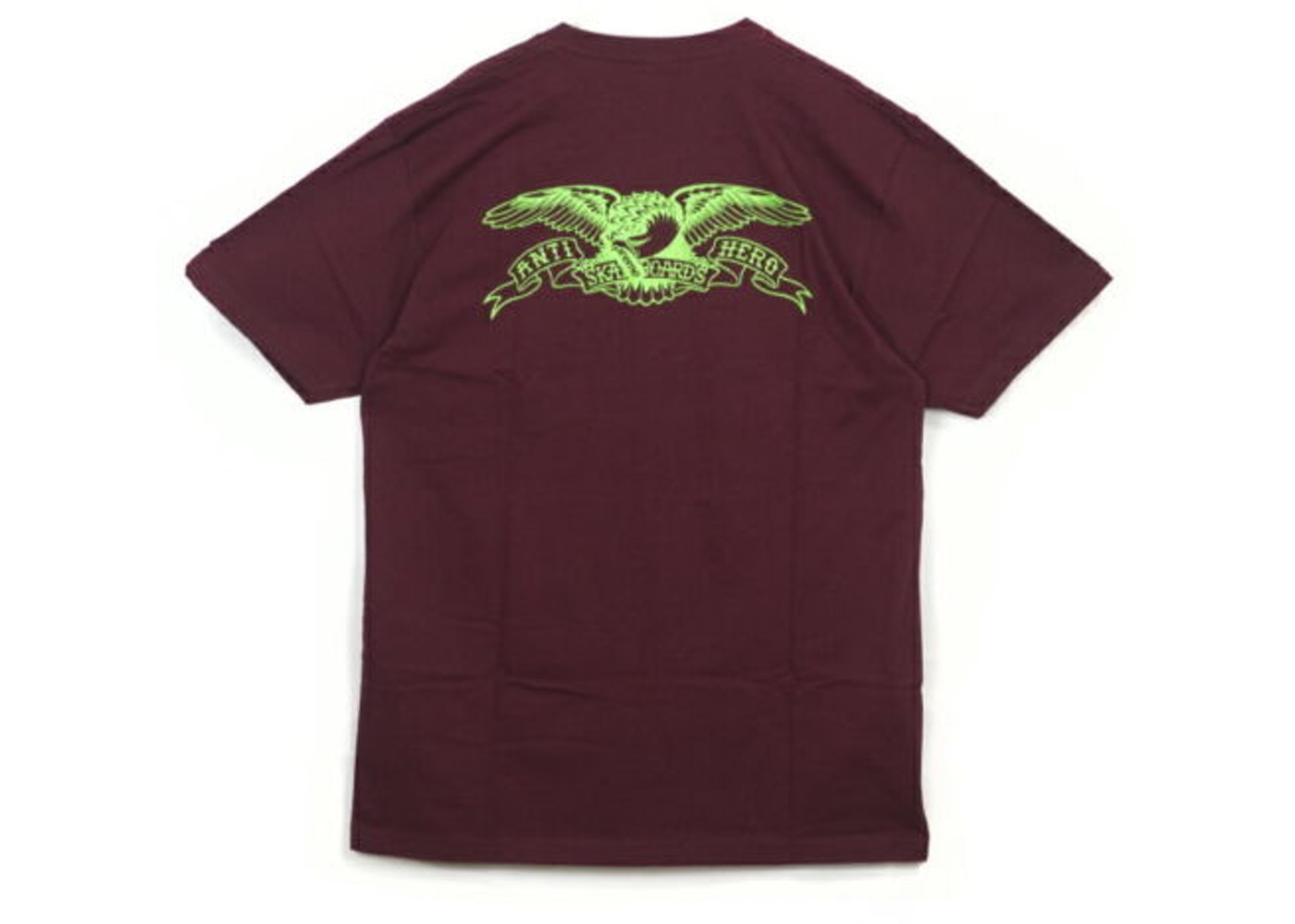 165958ad Sell. or Ask. Size M. View All Bids. Supreme Anti Hero Eagle Pocket Tee  Burgundy