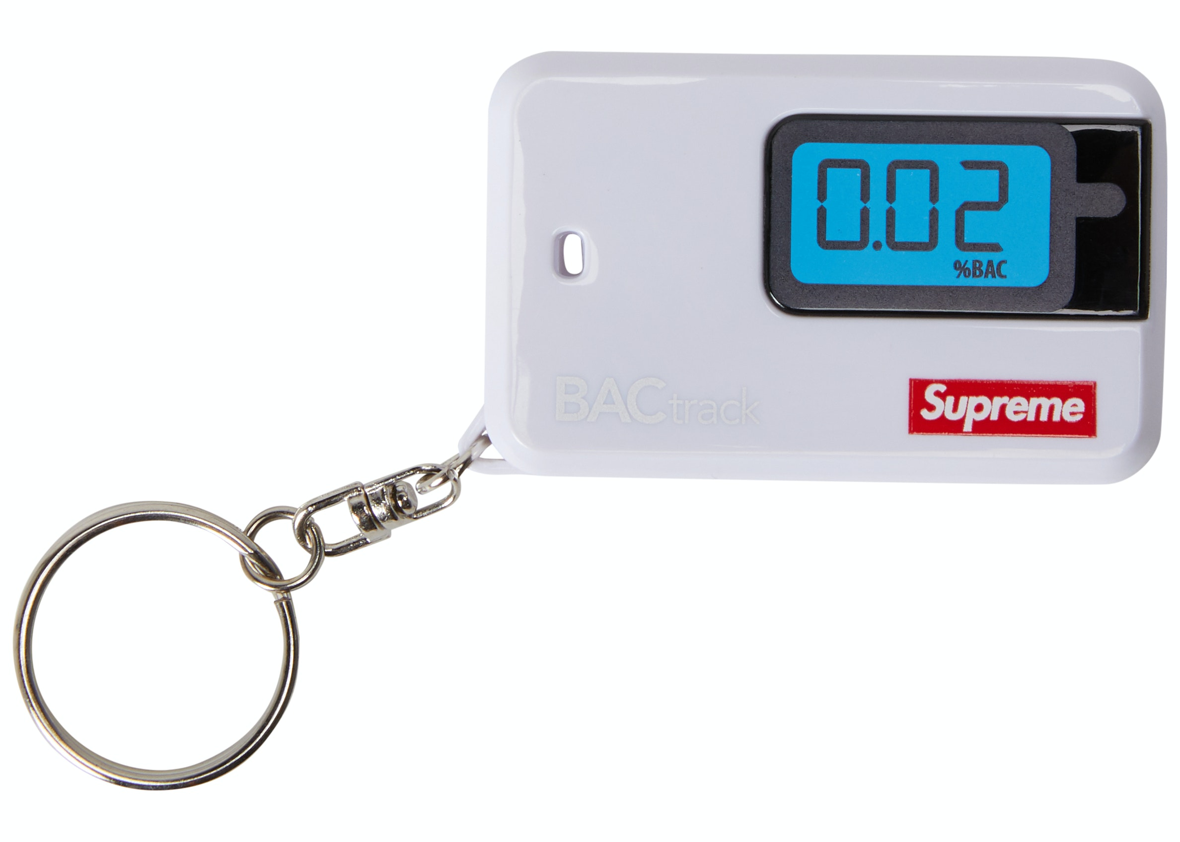 Supreme BACtrack Go Keychain White