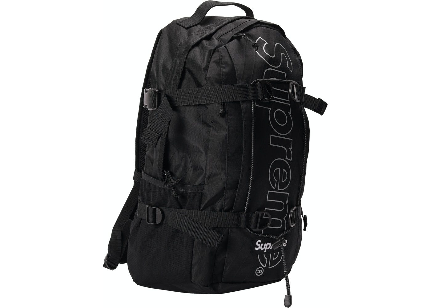 Supreme Backpack (FW18) Black - FW18 ec6ba92f77763