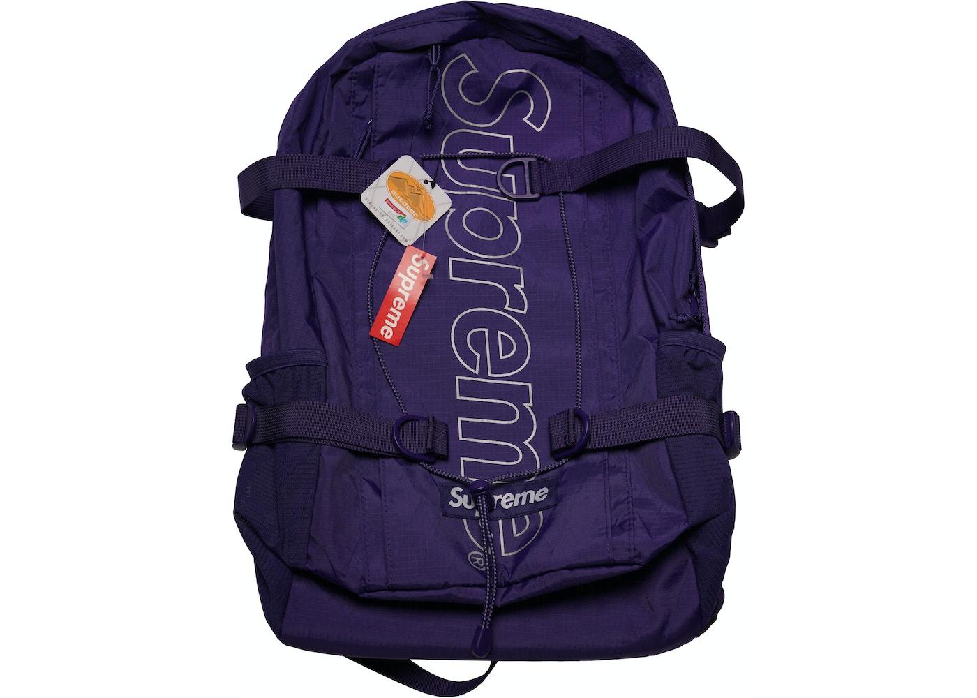 c520af47 Supreme Backpack (FW18) Purple - FW18
