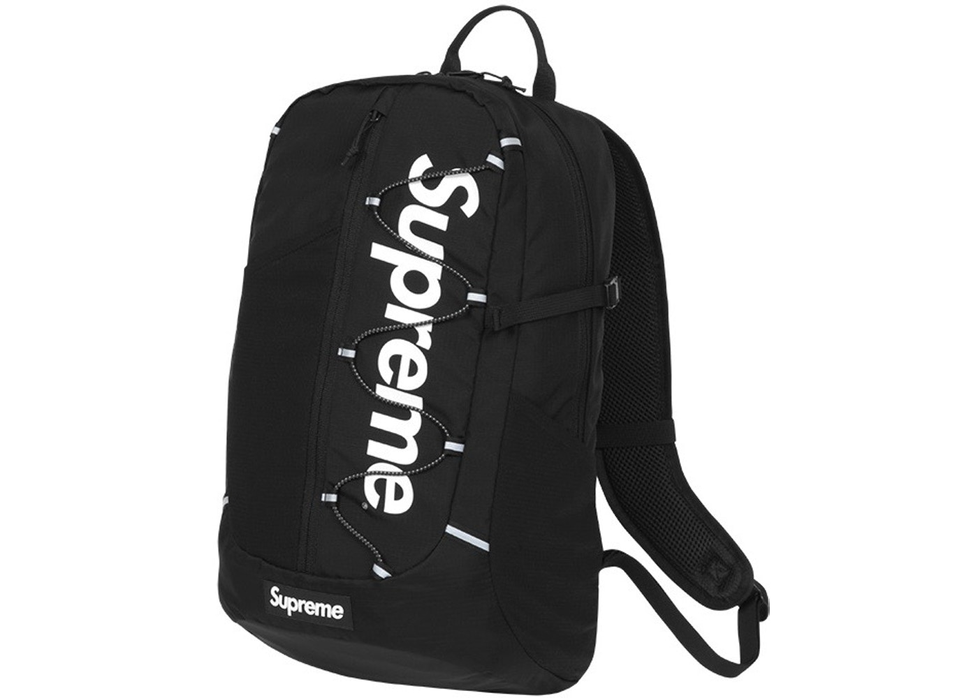 Supreme SS17 Backpack Black - SS17