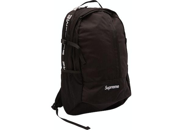 classic fit c9dea ccab1 Supreme Backpack (SS18) Black - SS18
