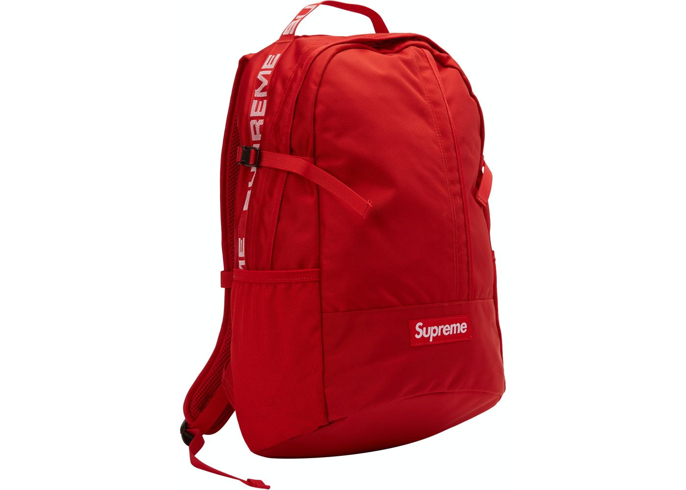 sports shoes ca9b7 84d28 Supreme Backpack (SS18) Red - SS18